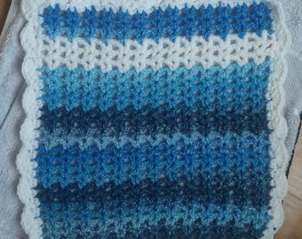 Crochet Baby Doll Blanket
