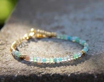 Lady of the lake - beaded bracelet