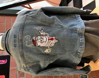 Embroiderd Jean Jacket