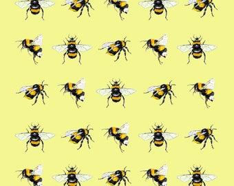 Bumble Bees Greetings Card
