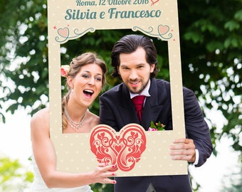 Wedding Photo Booth Frame-Heart