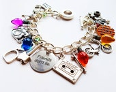 Friends Don't Lie Charm Bracelet- inspired by Stranger Things