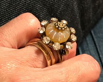 Crown Jewels Ring Adjustable - all PROFITS donated to the ACLU