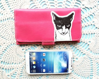 Mean Cat Wallet For the Ladies