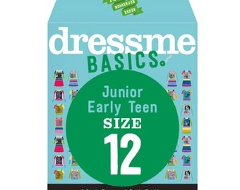 Dressme Basics - Pattern SIZE 12 - 1 Dress and 1 T-shirt - 1000s of possibilities