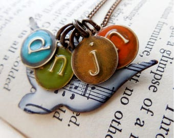 Mom Necklace, personalized song bird necklace for mom with music sheet,  child initial necklace, Initial Necklace, Unique, Christmas Gift