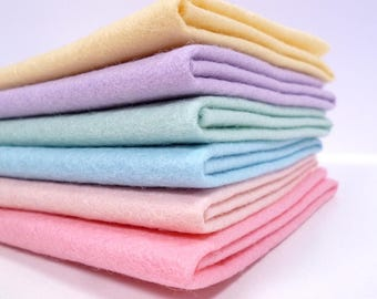 CANDY PASTEL Colours Felt Pack