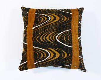 Bohemian Pillow ~ Mudcloth Pillow ~ Mud Cloth Pillow (MUD15)