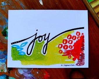 joy - 5 x 7 inches