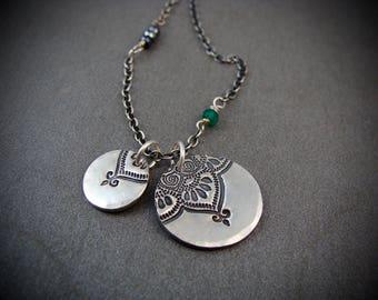 double Marrakesh ... black spinel necklace