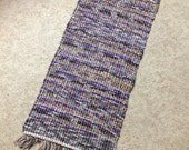 Rag Rug 34inches long by 18 inches reuse flannel clothing