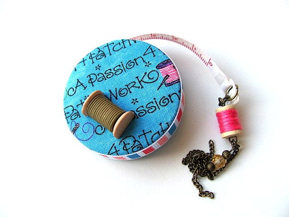 Patchwork Retractable Sewing Tape Measure