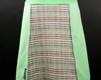 Minty Fresh Vintage Fabric A-Line Skirt   Multiple Sizes