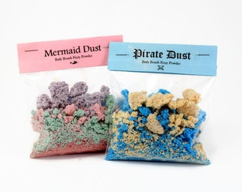 2 Kids Bath Fizzy Dust, Bath Bomb Powder for Kids, Fun Gift for Kids