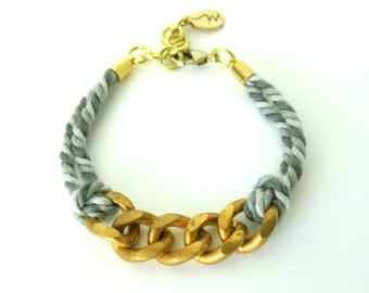 Entwined Links Bracelet {see more colours}