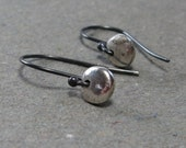 RESERVED for Kathy -- Minimalist Earrings Sterling Silver Earrings Petite Drop Earrings II