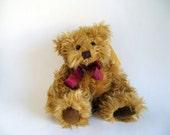 Vintage Gregory Russ Berrie Teddy Bear Stuffed Animal Toy 1990s Toy designed by Carol-Lynn Rossel Waugh Plush