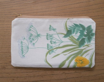 wildflowers pencil case number 2