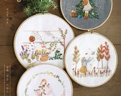Four Seasons French Embroidery -  Craft Book