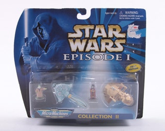 Micro Machines, Star Wars, Collection 1, Micro Machines, Vintage, Galoob, Playset  ~ The Pink Room ~ 161123