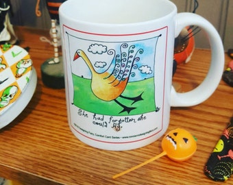 You Can Fly! Comfort Card Mug Inspiring Encouraging Quote