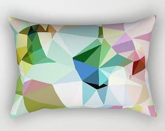 Geometric Art, Lumbar Pillow, Geometric Pillow, Throw Pillow, Accent Pillow, Couch Pillow, Modern Pillow, Sofa Pillow, Toss Pillow