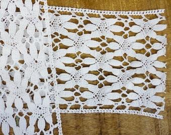 Natural Cotton Cluny Lace Ribbon