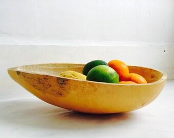 Beautiful Gourd Bowl. Oaxaca, Mexico