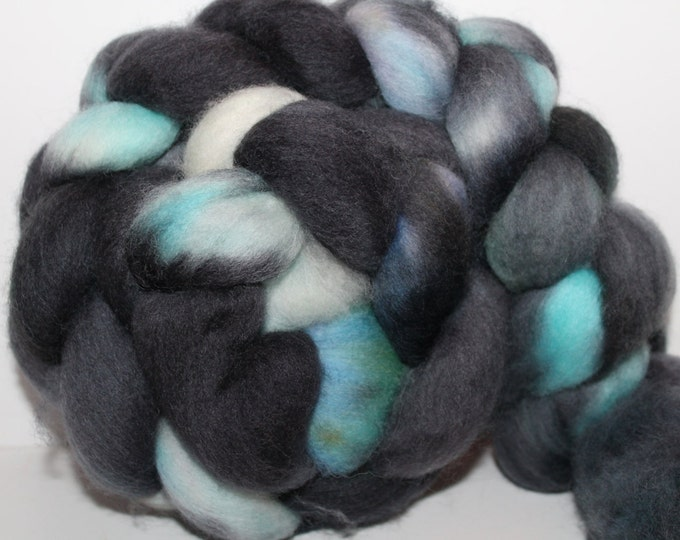 Kette Dyed Polwarth wool top. Roving. Spin. Felt. Super Soft. 4oz FREE SHIP #P20