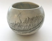 Feather Tea Bowl 1