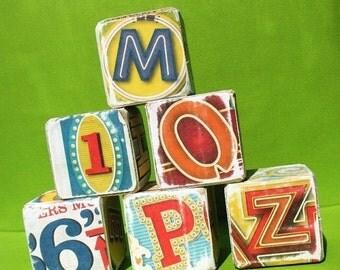 50% OFF - Broadway Lights - Alphabet Art Blocks