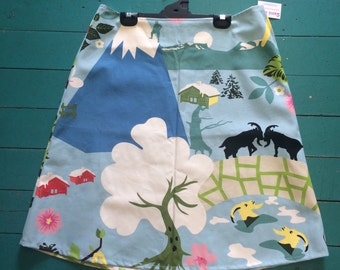 Samibop Thick Cotton Aline Skirt - Size 10/12