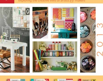Studios Magazine - Exploring The Creative Lives Of Artists & Makers - 2013 Collection CD
