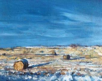 Original Oil Painting, landscape oil on canvas