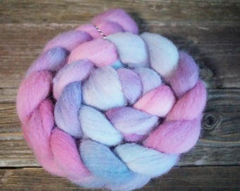 BFL Combed Top, Spinning Fiber, Hand Dyed