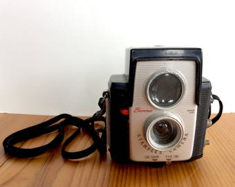 Kodak Brownie Starflex Camera. Vintage Film Camera, Color / Black and White Camera.