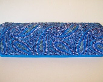 Cricut Dust Cover / Scan-n-Cut Cover / Cricut Machine Cutter Protector / Quilted / Starry Starry Night / Blue Paisley