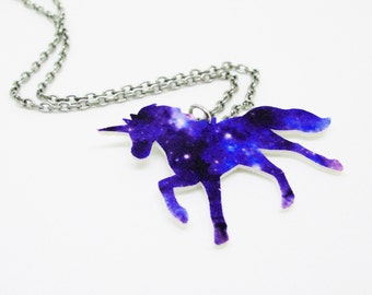 Unicorn Galaxy Necklace