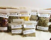 Choose 10-bags of wiccan/pagan herbs -Mix n Match! Wiccan herbs, herbs for spells, altar tools, witchcraft kits, spell kits, wiccan spells,