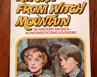 Return From Witch Mountain Book