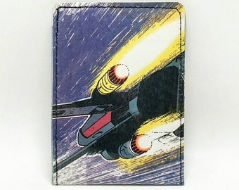 Sewn Comic Book Wallet - Star Wars - X-Wing Fighter
