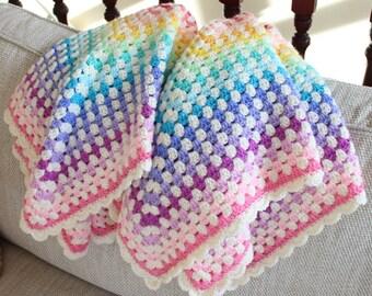 Pastel and cream Blanket