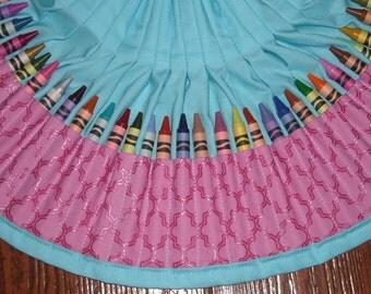 Mauve Pearl essence crayon apron