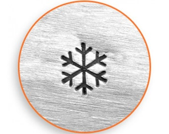 Impress Art 3mm Snow Flake Stamp Design Stamp  Decorative Stamp