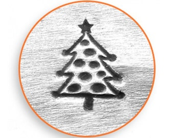 Impress Art 6mm Christmas Tree Stamp Design Stamp  Decorative Stamp