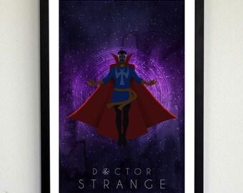 Doctor Strange Nebula Poster