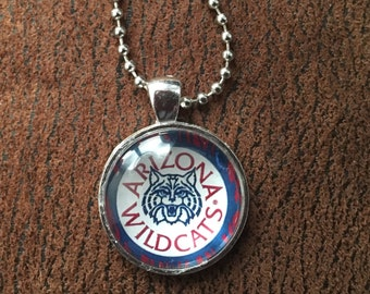 Arizona Wildcats Necklace