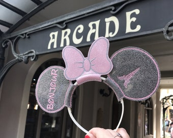 Mickey Mouse Ears- Disney- Paris- Eiffel Tower