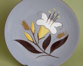 Stangl Golden Harvest bread and butter salad plate