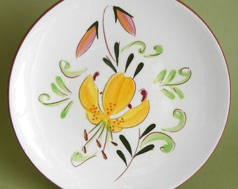 STANGL TIGER LILY Plate